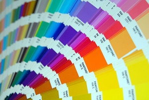 Pantone Color Palette Tilt Shift Detail Desktop Wallpaper
