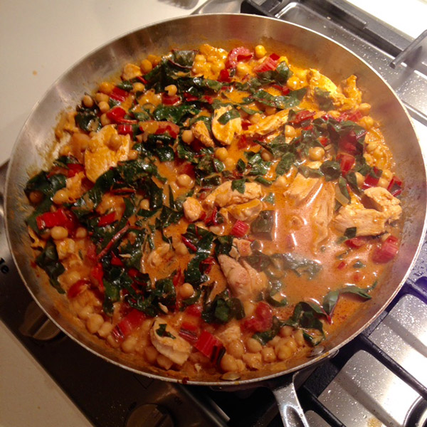 chick pea curry 1
