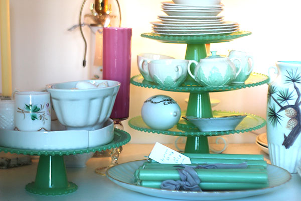 tiered plate