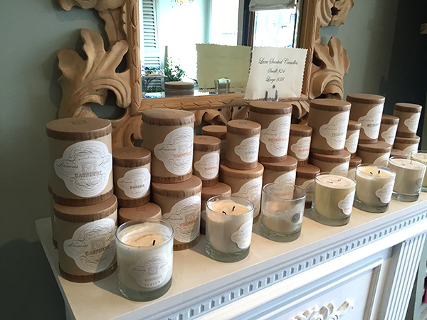 candles on mantels