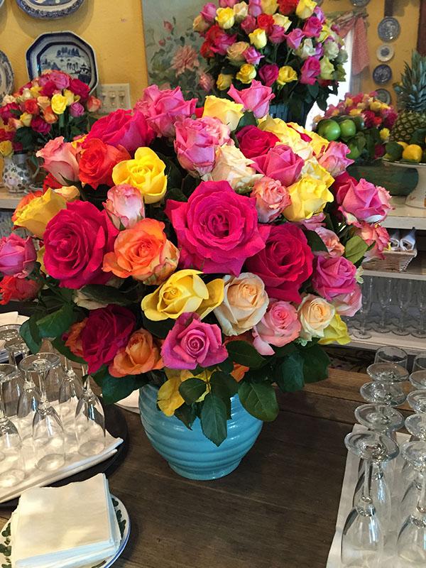 roses at ivy