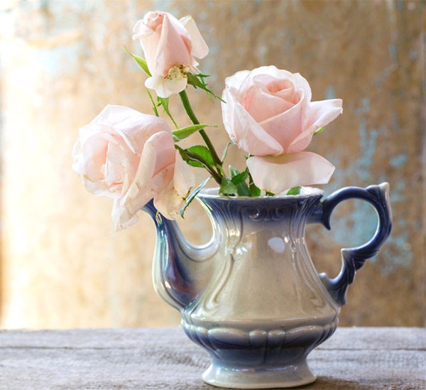 teapot vase