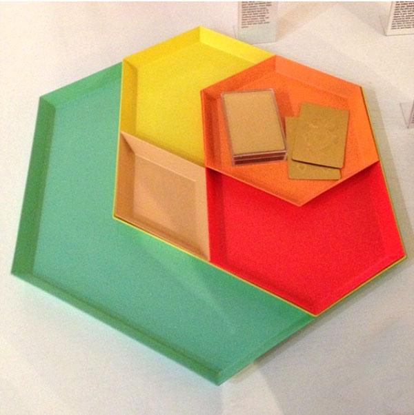 coloured plates